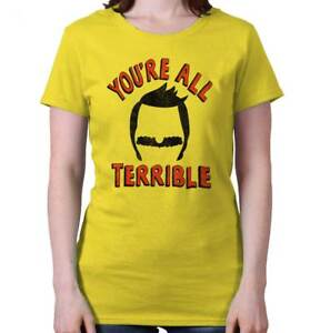 All-Terrible-Funny-Gift-Cool-Bobs-Burgers-Cute-Cartoon-Gene-Womens-T-Shirt