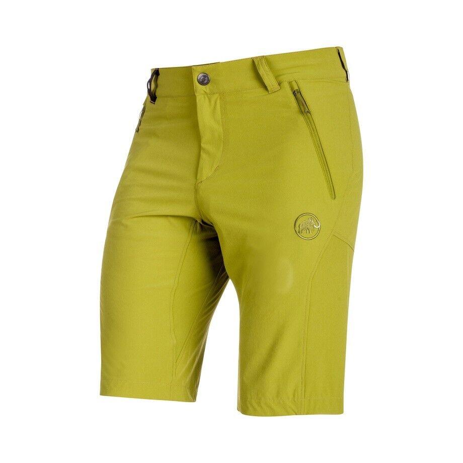 Mammut Runbold Shorts Men, aloe, leichte Outdoorshort - elastisch