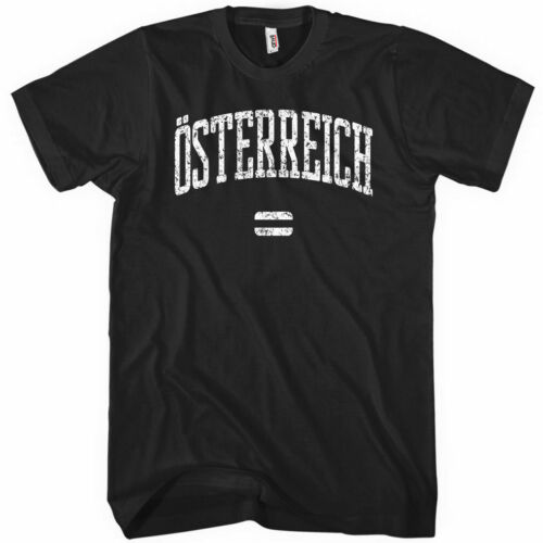 Austria Vienna Salzburg Graz Innsbruck Men /& Kids XS-4XL OSTERREICH T-shirt