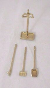 Fireplace-Tools-1-12-scale-dollhouse-miniature-IM66236-metal-4pcs