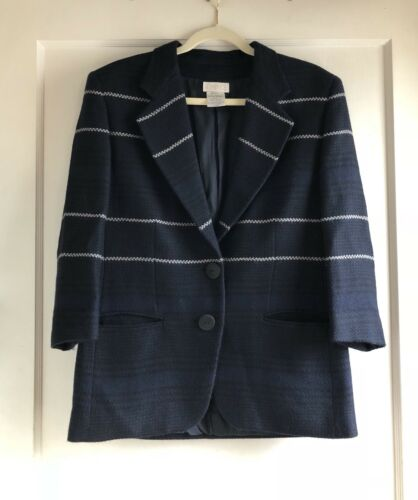 Complice Italy Wool Navy Blue Blazer Jacket Coat S