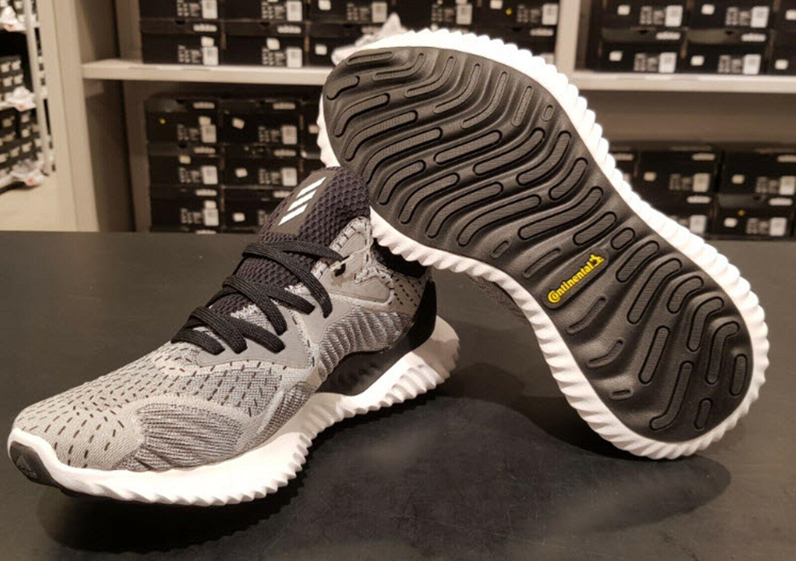 Adidas Mujeres Alfa-Zapatos tenis de correr gris de rebote más allá Informal Zapato DB8118