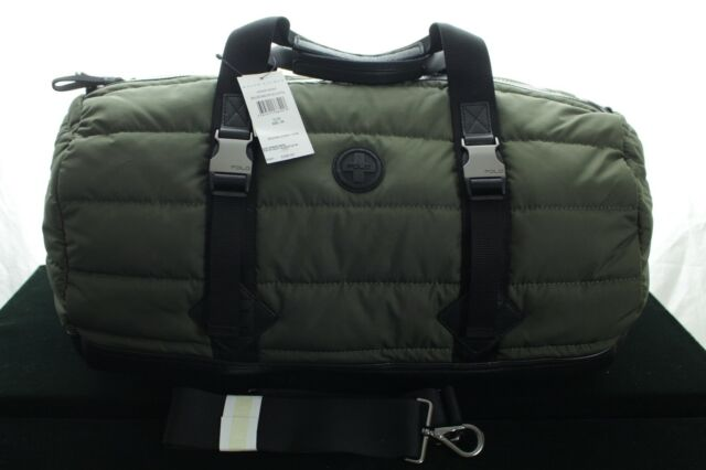 BNWT RALPH LAUREN MEN S MOUNTAIN PUFFA NYLON DUFFLE  GYM   WEEKEND BAG RRP  £255 9123bfaa24c22