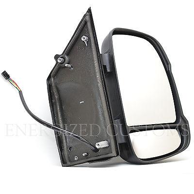 FIAT DUCATO 2006-2018  SHORT ARM ELECTRIC  DOOR WING MIRROR  PAIR RIGHT  LEFT