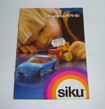 Siku Toys, Catalogue Dated 1979-80, - Superb