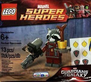 LEGO-MARVEL-SUPER-HEROES-Cohete-Mapache-5002145-Polybag-BNIP
