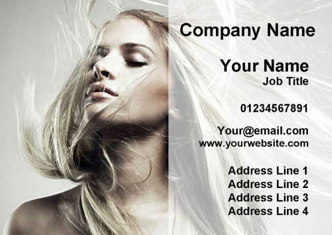 Les cheveux mobile salon de coiffure cartes de de cartes visite personnalisées 92c73a
