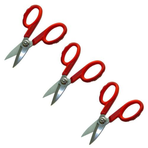 Details about  /Jameson Scissors 1.625 Inch Fiber Optic Shears Flush Cut Stainless Steel 3 Pack