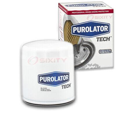 Purolator TECH Engine Oil Filter for 1991-2002 Saturn SL1 1.9L L4 Oil Change qg