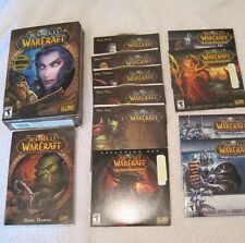 World of WarCraft  by Blizzard Entertainment for Windows & Mac + 3 expansion set
