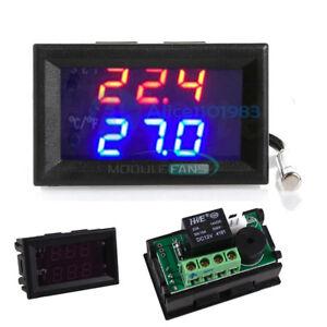 DC-12V-50-110-C-W1209WK-Digital-thermostat-Temperature-Control-Smart-Sensor-M