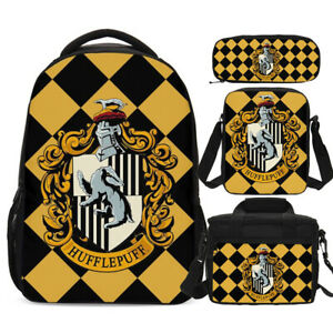 Harry Potter Hufflepuff Backpacks Insulated Lunch Box