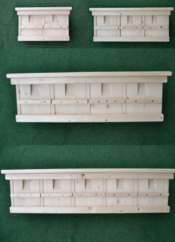 Nistkasten für Spatzen Sperling Spatzenhaus Koloniebrüter 4 verschiedene Modelle