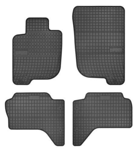 Apto para Mitsubishi L200 Alfombrillas Goma Alfombrillas de Goma 2006-2016
