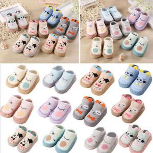 Newborn-Baby-Boys-Girls-Cartoon-Ears-Floor-Socks-Anti-Slip-Baby-Slippers-Shoes-P