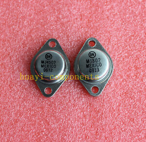 7 PAIRS Transistor MOTOROLA//ON TO-3 MJ15022//MJ15023
