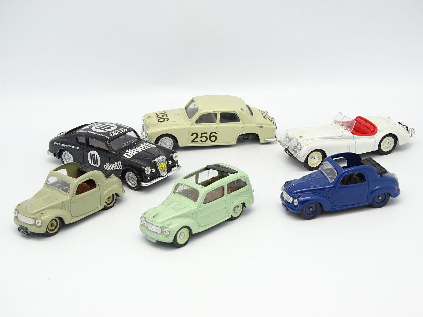 Brumm sb 1   43 - 6er set modelle fiat - lancia - jaguar