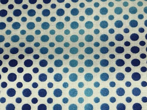 Fabric Carnivale Ombre Dots Cobalt on White Cotton by the 1//4 yard