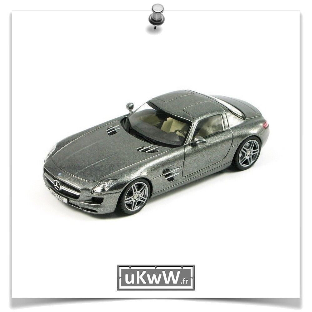 precios mas baratos Schuco 1 43 - Mercedes SLS AMG 2010 gris gris gris foncé métallisé  100% precio garantizado