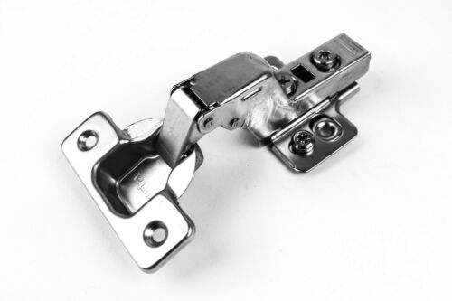 60 Inset Berta 110 Degree Clip on Frameless Cabinet Door Hinges Soft Close