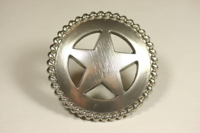 50 Texas Western Rustic Star Kitchen Cabinet Knob Drawer Pull Handle Nickel