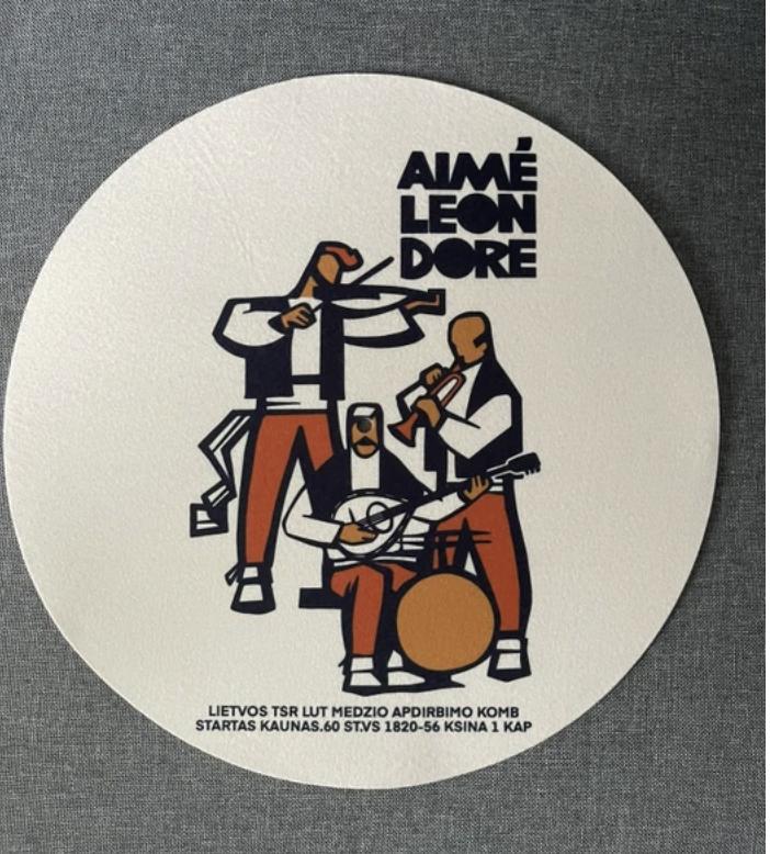 Aime leon dore Graphic Slip Mats Band ALD