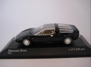 Maserati Bora 1972 noir 400123400 1/43 Minichamps