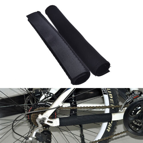 2X Cycling Bicycle Bike Frame Chain stay Protector Guard Nylon Pad Cover Wrap HU