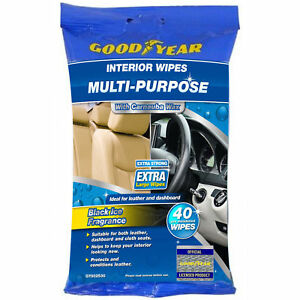40-GOOD-YEAR-Multi-Purpose-Car-Wipes-Leather-Windscreen-Cleaning-Polish