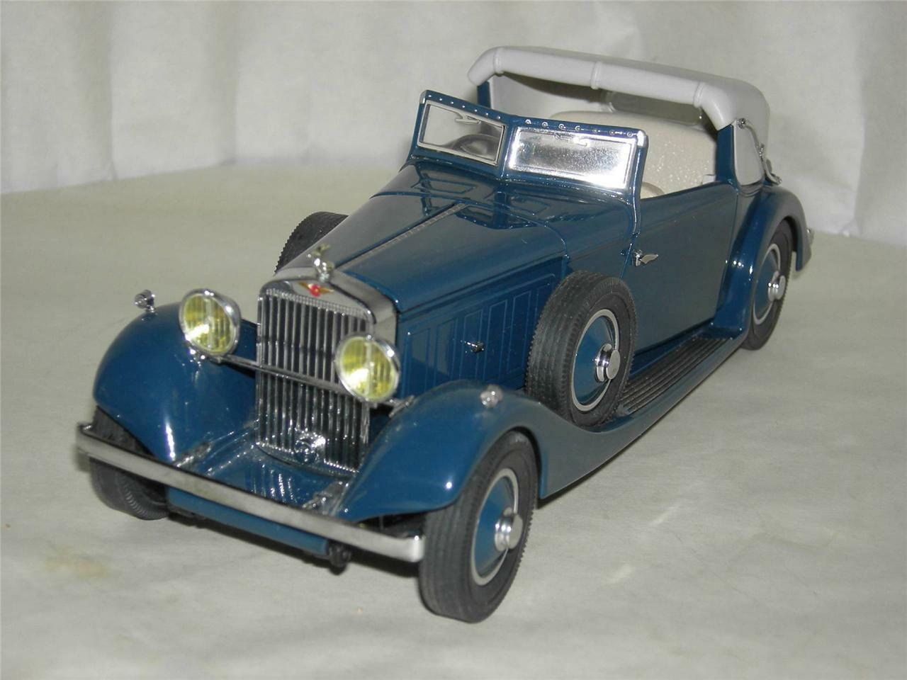 1934 HISPANO-SUIZA J-12   DANBURY MINT   MIB.1 24 SCALE