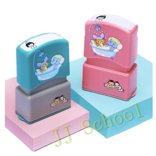 Clothing Stamp Personalized Kids School Uniform Cotton Marker Lable Unicorn Name