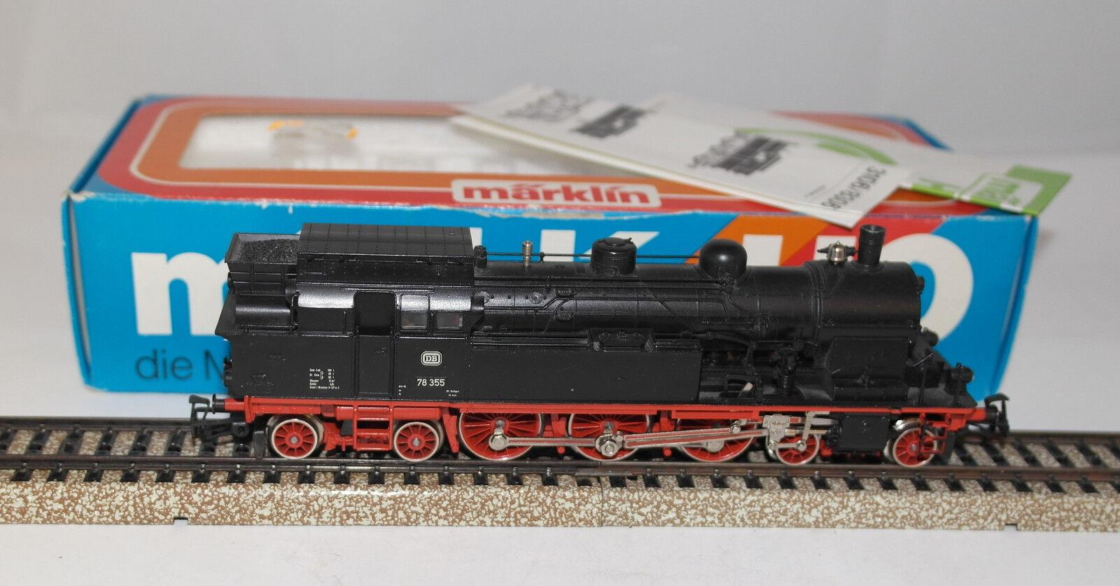 Marklin h0  3106 Tank Locomotive DB BR 78 EXCELLENT ORIG. Box  year 1980 (2) ++++
