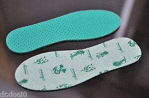 Premium Minze Schweissfüße Fußgeruch Einlegesohlen Einlagen Schuheinlagen 36-48