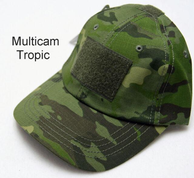 3e3651f01acd1 Condor Tropic Multicam Adjustable Strap Tactical Cap W  3 Hook and Loop  Panels