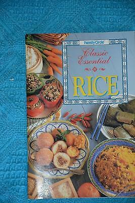 Family Circle~ CLASSIC ESSENTIAL RICE GR8 Recipes~RARE~ FAMILY or PARTY FOOD