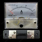 DC 30A Analog Ammeter Panel AMP Current Meter 85C1 Gauge 0-30A DC + Shunt