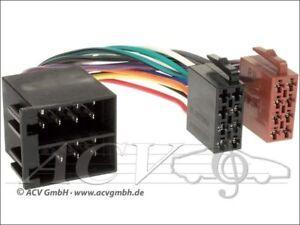 ISO prórroga Radio Adaptador hyundai i10 i20 i30 ix55 Opel alfa Radio Adaptador