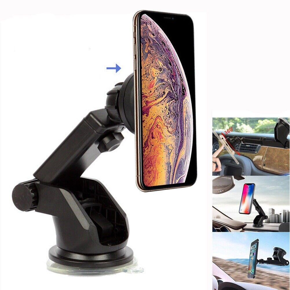 official photos df18c 16357 Details about Magnetic Dashboard Car Mount Windshield Phone Holder For  iPhone XR/XS Max GPS UK