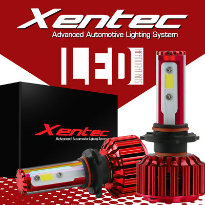 XENTEC 9006 HB4 9012 180W LED headlight bulbs COB 18000LM XENON 6000K White