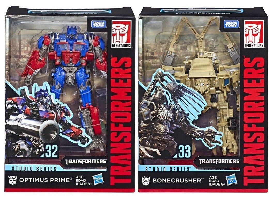 Die studio - serie    32 optimus prime,   33 bonecrusher festgelegten zahl