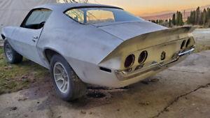 1970 Camaro project car