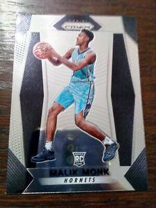 2017-18 Panini Prizm Malik Monk Rookie #233 Charlotte Hornets
