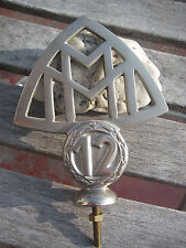 vintage german MAYBACH 12 ZYLINDER ZEPPELIN 1930-1941 - hood mascot badge emblem