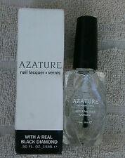 AZATURE Black Diamond Clear Top-Coat Nail Polish  ~ NEW