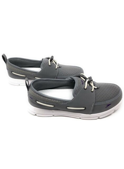 Free Shipping! Speedo Women/'s Port Water Boat Shoe Gray Pick A Size