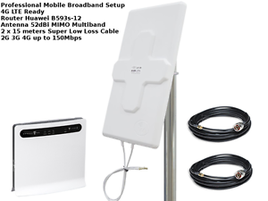 MIMO-Mobile-Broadband-Antenna-Booster-Huawei-B593-LTE-4G-150MBPS-52dbi-15M