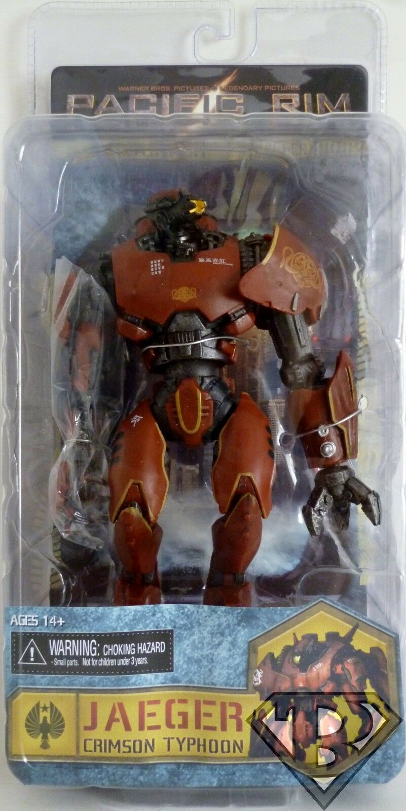JAEGER CRIMSON TYPHOON 2nd Deployment Pacific Rim 7  Variant Figure Neca 2014