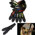 Hot Sell Acoustic Electric Guitar Bass Nylon Adjustable Strap Belt Guitar Strap