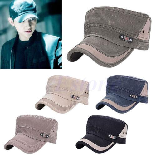 Men Women Adjustable Plain Baseball Cap Trucker Cap Sport Snapback Hip-hop Hat