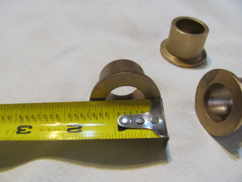 4 Pk Lot Flanged Bushing 7//8x1-1//8 SAE Caster Yoke Support Fits Various Mowers